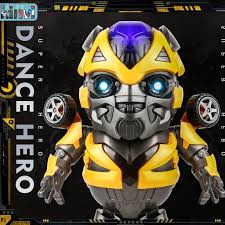 Bumblebee gots lots of toys! Bumblebee Toy Transformers Dancing Bumblebee Robot Light Music Electric Children S Toys Bumblebee Who Can Sing And Dance Shopee Singapore