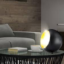 Etc Shop Tischleuchte In Schwarz Gold Für Ihr Schlafzimmer Billy