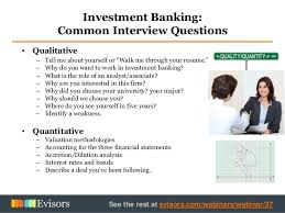 Getting A Job In Investment Banking Fascinating Investment Banking Walk Me Through Your Resume