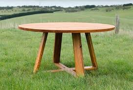 wooden outdoor furniture sets round dining tables custom timber