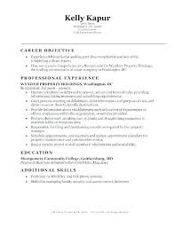 Best Ideas Of Resume Template For Receptionist Dental Receptionist ...