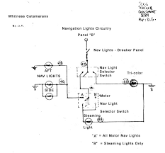 boat nav light wiring diagram wiring diagram all about marine switches sailing vessels source boat navigation light wiring diagram