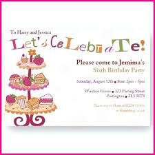 tea party invitations free template free tea party invitation templates zoli koze