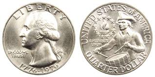 1976 S Washington Bicentennial Quarter 40 Silver Coin Value