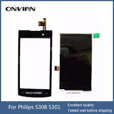For Philips S308 S301 lcd display Touch ...