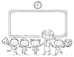 We have lots of great colouring pages for you to have fun practising english vocabulary. Back To School Coloring Pages Best Coloring Pages For Kids