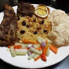 Nasi kebuli terkenal dengan rasanya yang gurih dari santan ataupun susu. Nasi Kebuli Kambing Kitaberbagi Resep Kambing Resep Nasi