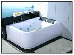 2 person whirlpool tub tubs home depot jetted jet cleaner wh home bath spa bathtub