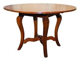 48 round wood pedestal dining table solid inch with leaf cherry the local vault kitchen winning