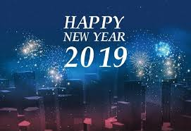 New Year Backdrops Laeacco Happy New Year 2019 Party City Fireworks Photography