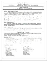 Nursing Curriculum Vitae Simple Nurse Curriculum Vitae Dawaydabrowaco For Nursing Cv Template