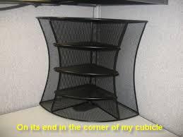 office corner shelf. A 2 Way Corner Shelf Unit Will Add Storage Versatility To Your Pertaining Office Cubicle Shelves Decor 14