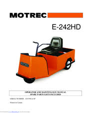 motrec e 242hd manuals manuals and user guides for motrec e 242hd we have 1 motrec e 242hd manual available for pdf operator and maintenance manual