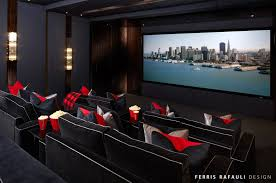 Ferris Rafauli Portfolio Interiors Home Theater Ideas - Home theatre interiors
