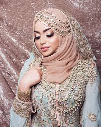10 traditional islamic hijab wedding dresses