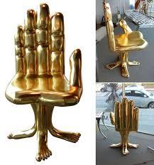 gold hand chair estro salotti sosia modern italian leather