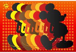 Mickey mouse silhouette 65921 Vektor Kunst bei Vecteezy