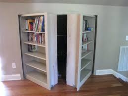 bookshelf closet door door bookcase traditional family and room bifold bookshelf closet doors bookshelf closet door