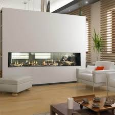 flare st 60 see through modern linear fireplaces