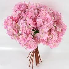 silk hydrangea arrangement 1pcs wedding delicate home decor bouquet artificial hydrangea centerpieces fillers bridal office crafts
