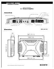 sony xplod 1000 watt amp wiring diagram efcaviation com how to set up sony xplod amp at Sony Xplod 600w Amp Wiring Diagram