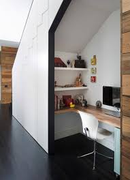 office under stairs. The Office Under Stairs