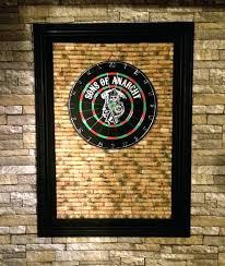 dart board wall dart board