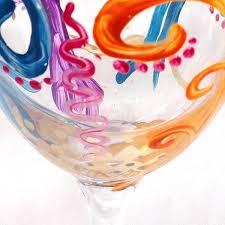 decorate wine glass