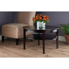 round espresso coffee table lovely round 56 for your home design ideas with table