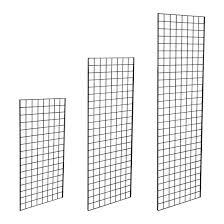 black grid mesh panel wire wall grid