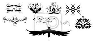 Fototapeta Vektorové Kreslení Tetování Ornamenty