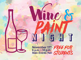 enjoy an evening of painting with wine and beer available for purchase bring government issued id