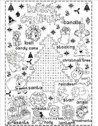 Christmas Printable Worksheets Worksheets