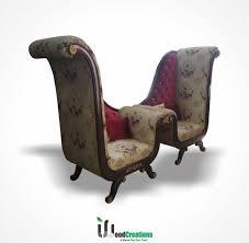 high back king sofa chair
