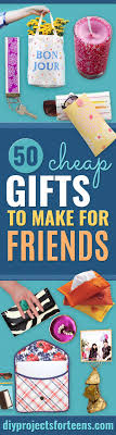 diy gifts and inexpensive homemade gift ideas for people on a budget to
