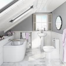 White Bathroom Suite 6 Tips To Enhance Natural Light Victoriaplumcom