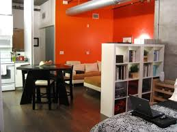 Orange Decorating For Living Room Orange Accent Wall For Modern Living Room Design For Small