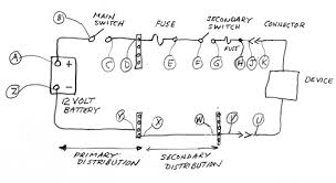 problem electrical distribution moderated discussion areas schematic diagram of electrical distribution typical of a small boat