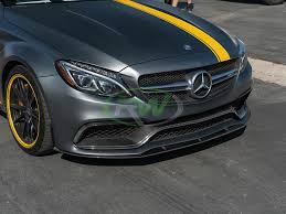Amg version of the roadster will follow. Mercedes W205 C63 C63s Coupe Edition 1 Style Carbon Fiber Lip Spoiler