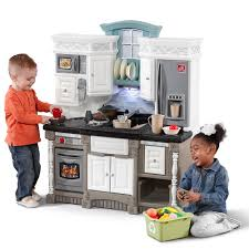 Play Kitchen Dream Kitchen With Extra Play Food Set Kids Toy Combo Step2