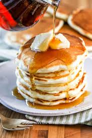 perfectly fluffy pancakes from scratch