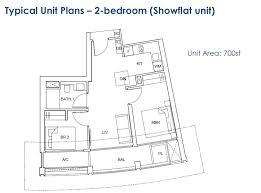 One Pearl Bank Floor Plan 2br Mysgprop