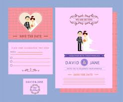 wedding invitation design templates wedding card templates couple design on colored background free