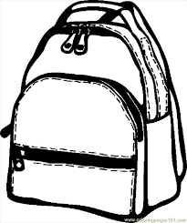 Small Picture Backpack 07 Coloring Page Free School Coloring Pages