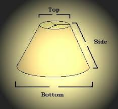 How to measure lamp shade Spider How To Size And Measure Lampshade Replacement Lampshade Custom Lampshade Lamp Shades How To Size And Measure Lampshade Replacement Lampshade Custom