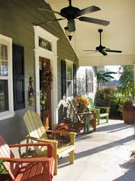 image of front porch rocking chairs wooden