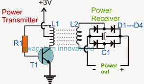 wireless cellphone charger circuit electronic circuit projects circuit diagram