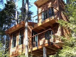 treehouse furniture ideas. 22. 2-Story Island Getaway In Maine. Collect This Idea Treehouse Furniture Ideas P