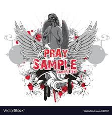 T Shirt Design Vector Free Download Dark Gothic T Shirt Design