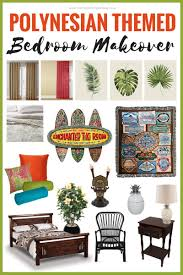 polynesian furniture. Create A Tropical Hideaway In Your Home With This Polynesian Themed Bedroom Makeover Mood Board! Furniture